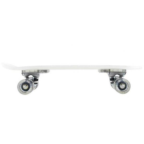Skateboard Fishboard LED Milk