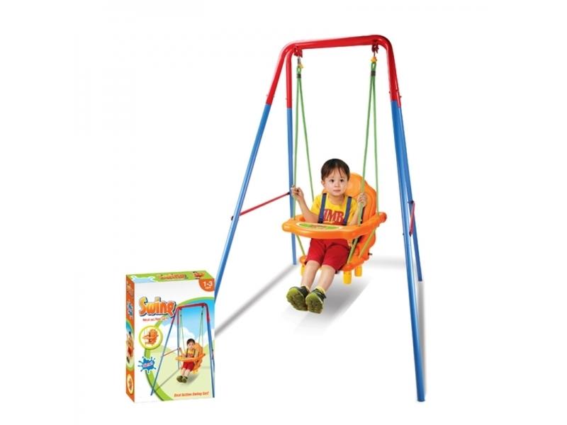 Leagan rezistent pentru copii Alibibi ,de fier pentru interior sau exterior