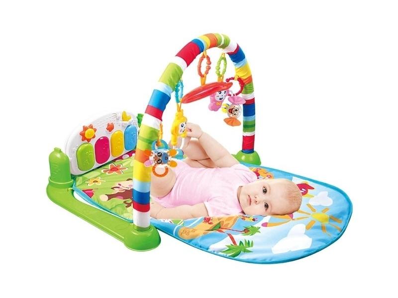 Saltea de joaca Baby Piano AliBibi cu accesorii muzicale