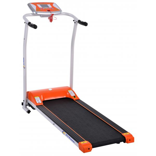 Banda de alergat electrica FitTronic T1000 Silver - Orange