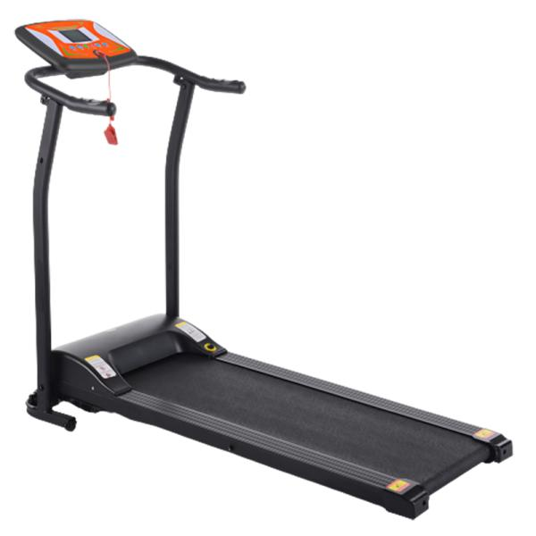 Banda de alergat electrica FitTronic T1001 Black-Orange