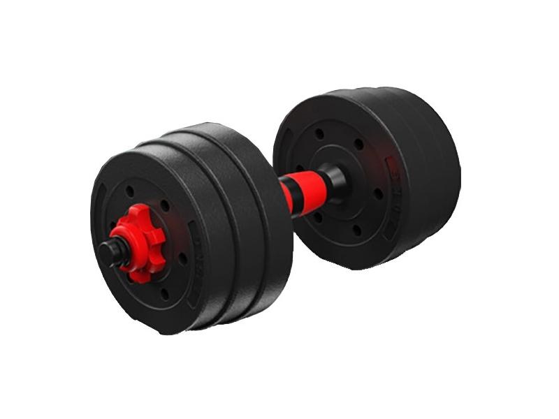 Set gantere reglabile BodyFit 10 kg