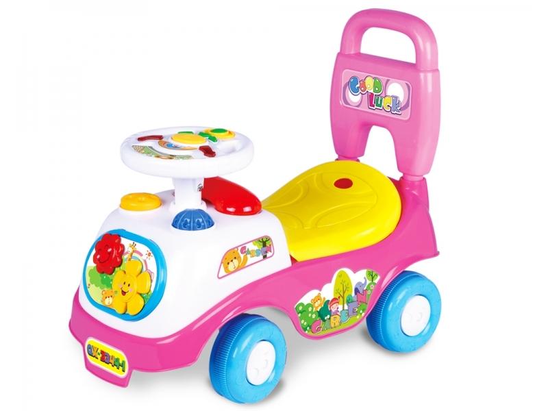 Masinuta Ride On AliBibi cu sunete si claxon, tip premergator