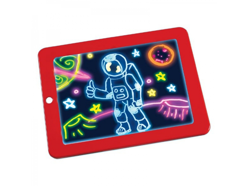 Tableta pentru desen si scris 3D luminoasa AliBibi