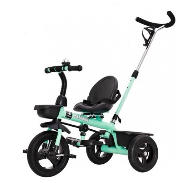 Tricicleta cu pedale AliBibi si maner parental